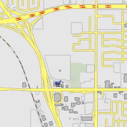 De Anza College - Cupertino, California De Anza College Map on