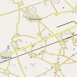 Ludhiana Map, Map of Ludhiana city
